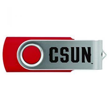 California State University, Northridge -8GB 2.0 USB Flash Drive-Red