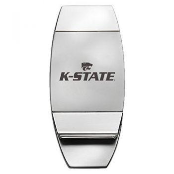 Kansas State Univsity - Two-Toned Money Clip