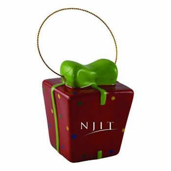 New Jersey institute of Technology-3D Ceramic Gift Box Ornament
