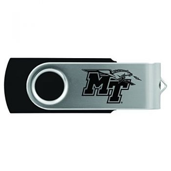 Middle Tennessee State University -8GB 2.0 USB Flash Drive-Black