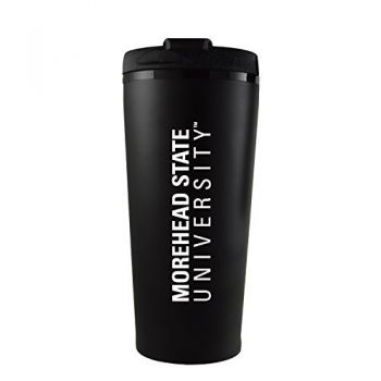 Morehead State University -16 oz. Travel Mug Tumbler-Black