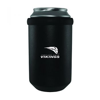 Portland State University -Ultimate Tailgate Can Cooler-Black