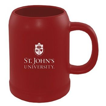 St. John's University -22 oz. Ceramic Stein Coffee Mug-Red