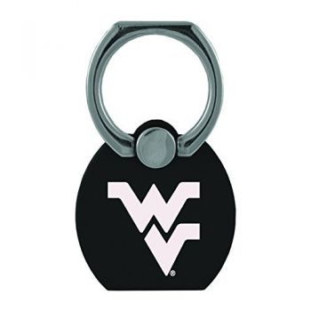West Virginia University|Multi-Functional Phone Stand Tech Ring|Black