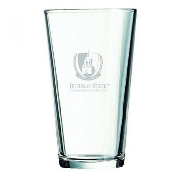 Buffalo State University - The State University of New York -16 oz. Pint Glass