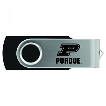 Purdue University -8GB 2.0 USB Flash Drive-Black