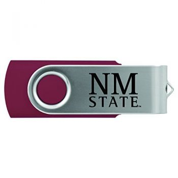 New Mexico State-8GB 2.0 USB Flash Drive-Burgundy