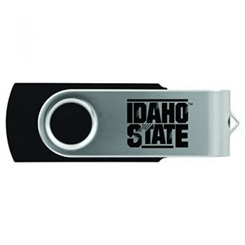 Idaho State University -8GB 2.0 USB Flash Drive-Black