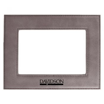 Davidson College-Velour Picture Frame 4x6-Grey