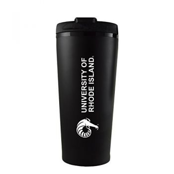 The University of Rhode Island -16 oz. Travel Mug Tumbler-Black