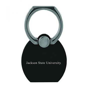 Jackson State University|Multi-Functional Phone Stand Tech Ring|Black