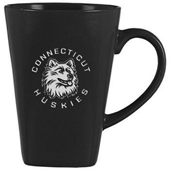 University of Connecticut-14 oz. Ceramic Coffee Mug-Black