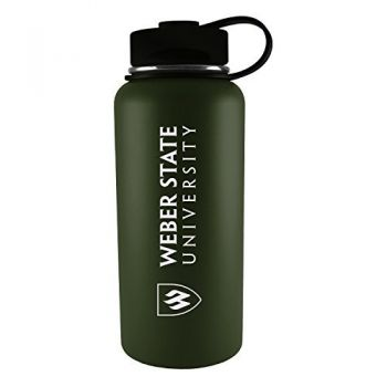 Weber State University -32 oz. Travel Tumbler-Gun Metal
