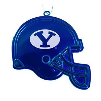 Brigham Young University - Christmas Holiday Football Helmet Ornament - Blue