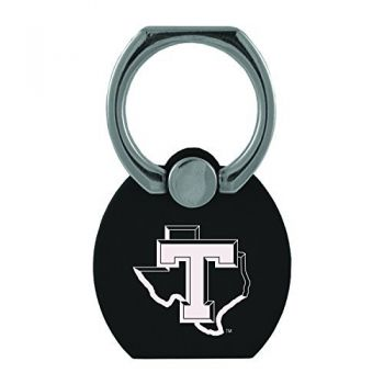 Tarleton State University|Multi-Functional Phone Stand Tech Ring|Black