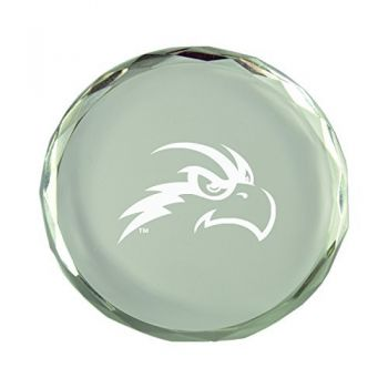 University of North Florida-Crystal Paper Weight