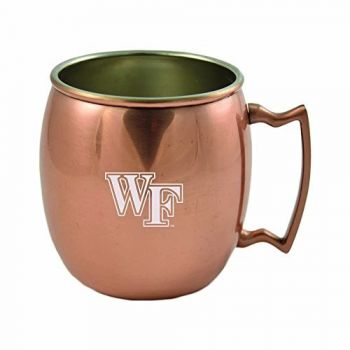 Wake Forest University-16 oz. Copper Mug