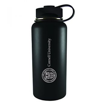 Cornell University-32 oz. Travel Tumbler-Black