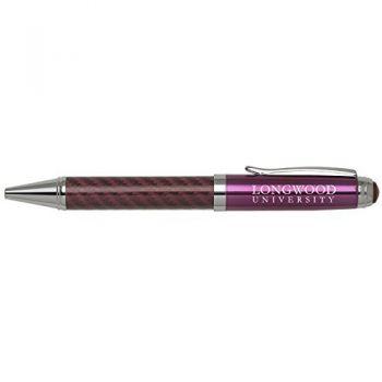 Longwood University-Carbon Fiber Mechanical Pencil-Pink