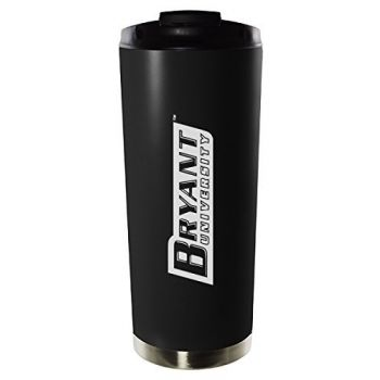 Bryant University-16oz. Stainless Steel Vacuum Insulated Travel Mug Tumbler-Black