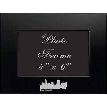 4 x 6  Metal Picture Frame - Cincinnati City Skyline