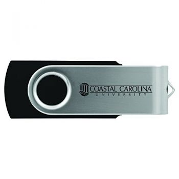 Coastal Carolina University -8GB 2.0 USB Flash Drive-Black