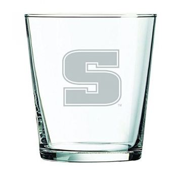 Slippery Rock University -13 oz. Rocks Glass