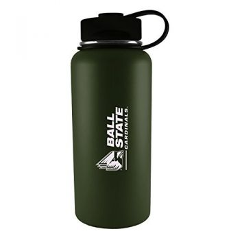 Ball State University -32 oz. Travel Tumbler-Gun Metal