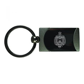 United States Naval Academy -Two-Toned Gun Metal Key Tag-Gunmetal