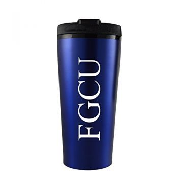 Florida Gulf Coast University -16 oz. Travel Mug Tumbler-Blue