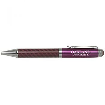 Oakland University -Carbon Fiber Mechanical Pencil-Pink