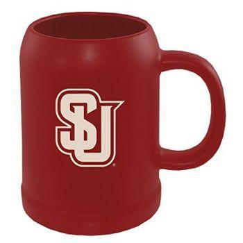 Seattle University -22 oz. Ceramic Stein Coffee Mug-Red