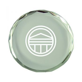 Longwood University-Crystal Paper Weight