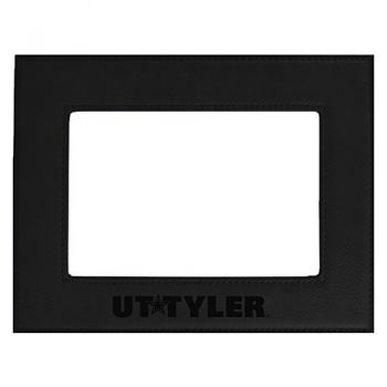 University of Texas at Tyler-Velour Picture Frame 4x6-Black