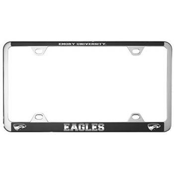 Emory University-Metal License Plate Frame-Black