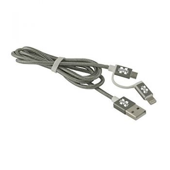 Mississippi State University -MFI Approved 2 in 1 Charging Cable