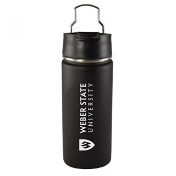 Weber State University -20 oz. Travel Tumbler-Black