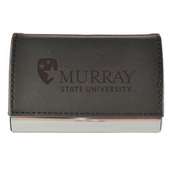 Velour Business Cardholder-Murray State University-Black
