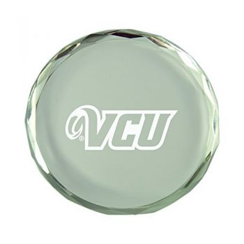 Virginia Commonwealth University-Crystal Paper Weight