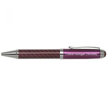 Central Michigan University -Carbon Fiber Mechanical Pencil-Pink