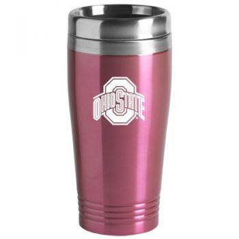 16 oz Stainless Steel Insulated Tumbler - Ohio State Buckeyes
