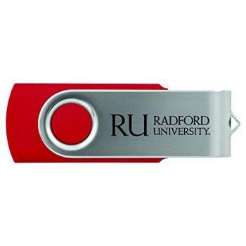 Radford University -8GB 2.0 USB Flash Drive-Red