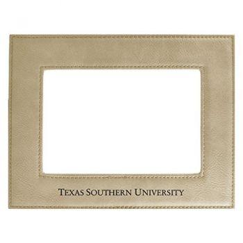 Texas Southern University-Velour Picture Frame 4x6-Tan
