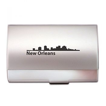 Business Card Holder Case - New Orleans City Skyline