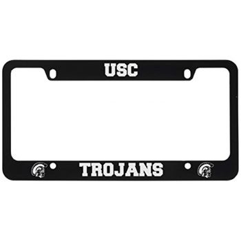 Stainless Steel License Plate Frame - USC Trojans