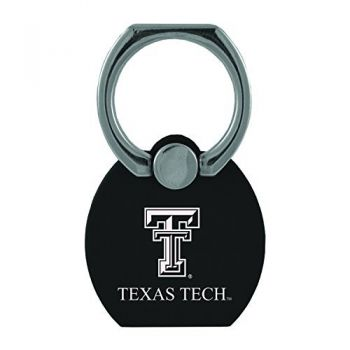 Texas Tech University|Multi-Functional Phone Stand Tech Ring|Black