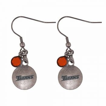 California State Univeristy Fullerton-Frankie Tyler Charmed Earrings