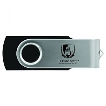 Buffalo State University - The State University of New York -8GB 2.0 USB Flash Drive-Black
