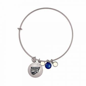 Emory University-Frankie Tyler Charmed Bracelet