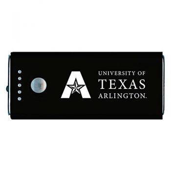 University of Texas at Arlington -Portable Cell Phone 5200 mAh Power Bank Charger -Black